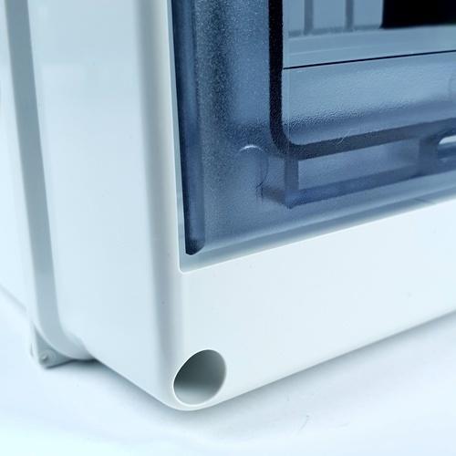 ELON ตู้กันน้ำพลาสติก ฝาใส ขนาด 200x255x93mm. HT-8WAYS