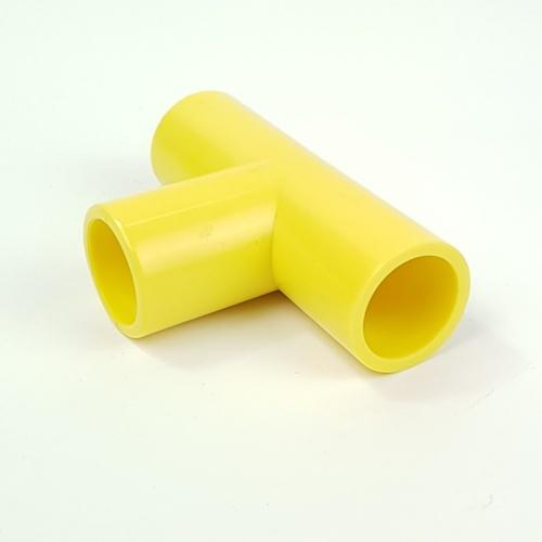 V.E.G สามทางฉากเหลือง1/2นิ้ว  -  สีเหลือง