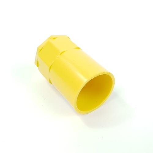 V.E.G ข้อต่อเข้ากล่องร้อยสายเหลือง 3/4นิ้ว  -