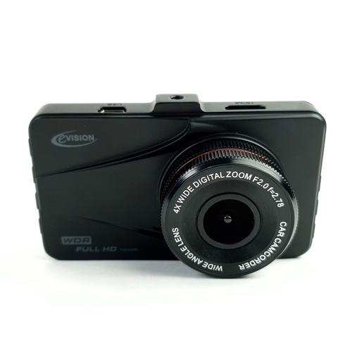 EVISION กล้องติดรถยนต์ (กล้องหน้า) CD-170 (3 นิ้ว)  สีดำ