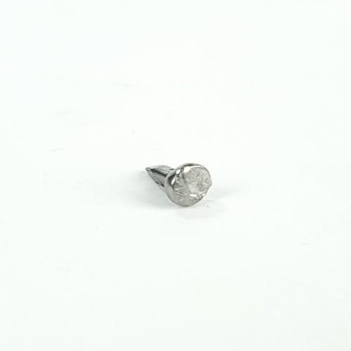 HUMMER ตะปูตอกกิ๊บ 1/4นิ้วx16 (1ขีด/ถุง) #1/4x16 สีโครเมี่ยม
