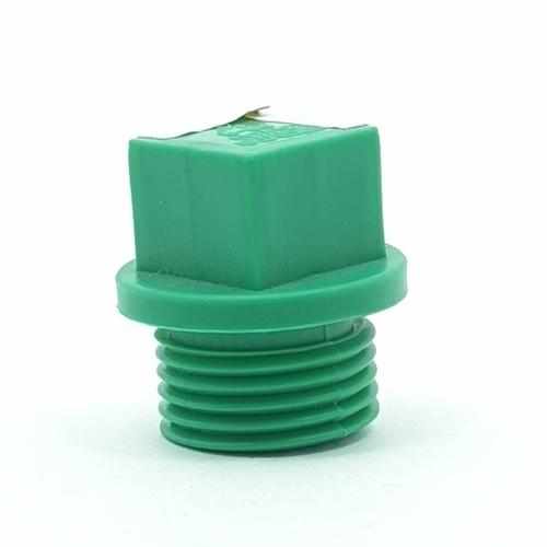 ERA ปลั๊กอุดเกลียวนอก 1/2นิ้ว (PPR) PR026   สีเขียว