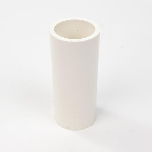 V.E.G. ข้อต่อตรง  หนา ขนาด 3/4 นิ้ว  สีขาว