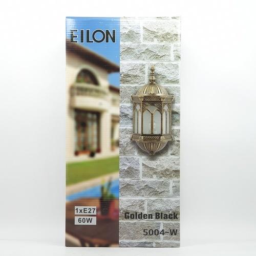 EILON โคมไฟผนัง 5004-W สีดำทอง