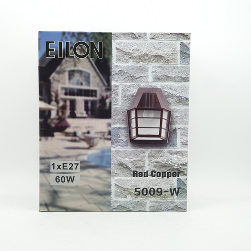 EILON โคมไฟผนัง  สีทองแดง  5009-W