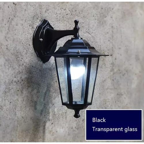 EILON โคมไฟผนัง ขั้ว E27 TVZT676 สีดำ