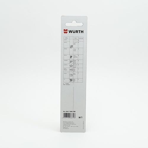 WUERTH ดอกสว่าน เจาะเหล็ก ขนาด 7.0 mm. DIN 338 HSS 7.0 mm.