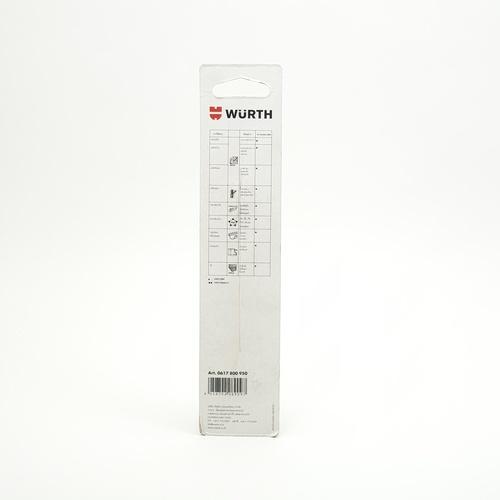 WUERTH ดอกสว่าน เจาะเหล็ก ขนาด 9.5 mm. DIN 338 HSS