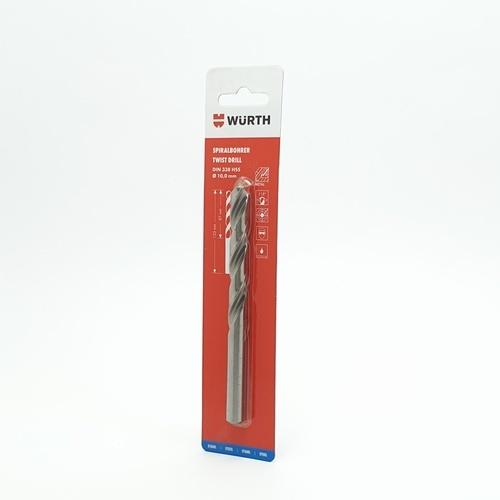 WUERTH ดอกสว่าน เจาะเหล็ก ขนาด 10.0 mm. DIN 338 HSS 10.0 mm.