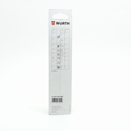 WUERTH ดอกสว่าน เจาะเหล็ก ขนาด 10.5 mm. DIN 338 HSS