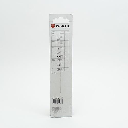 WUERTH ดอกสว่าน เจาะเหล็ก ขนาด 12.0 mm. DIN 338 HSS 12.0 mm.