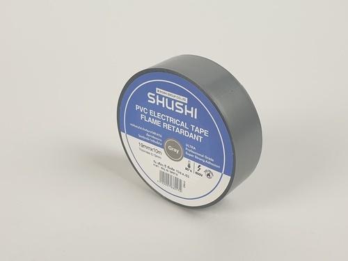 SHUSHI เทปพันสายไฟ 0.13mmx19mmx10m รุ่น 2130Z-108 สีเทา สีเทา