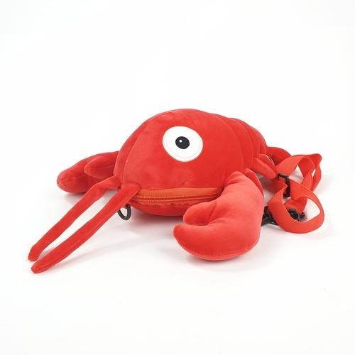 USUPSO กระเป๋าสะพายกุ้งมังกร 35 ซม. (#L9) สีแดง