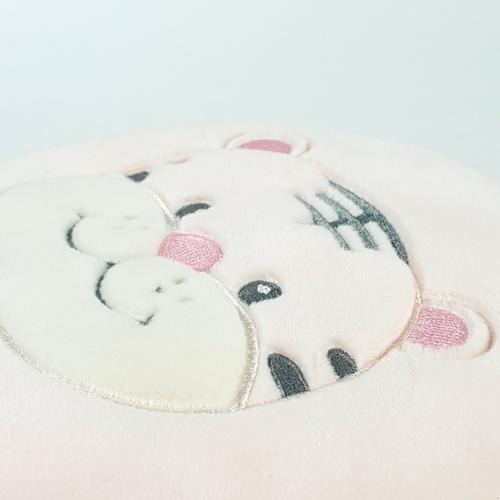 USUPSO กระเป๋าใส่เหรียญลายเสือน้อย - สีชมพู