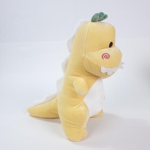 USUPSO ตุ๊กตาไดโนเสาร์ซีรี่ส์ 3  ขนาด 25 ซม.  สีเหลือง