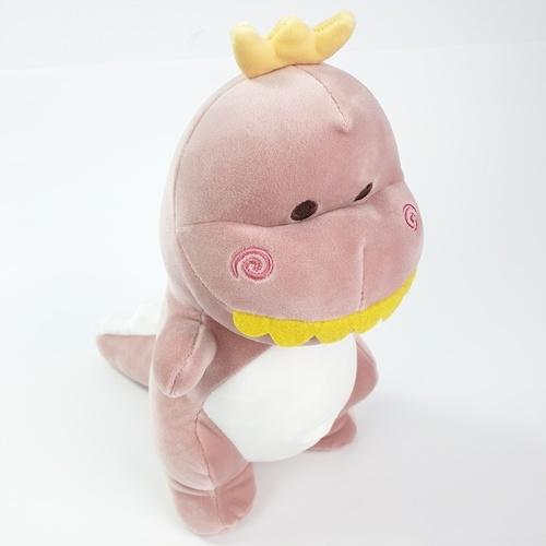 USUPSO ตุ๊กตาไดโนเสาร์ซีรี่ส์ 3  ขนาด 25 ซม.  สีชมพู