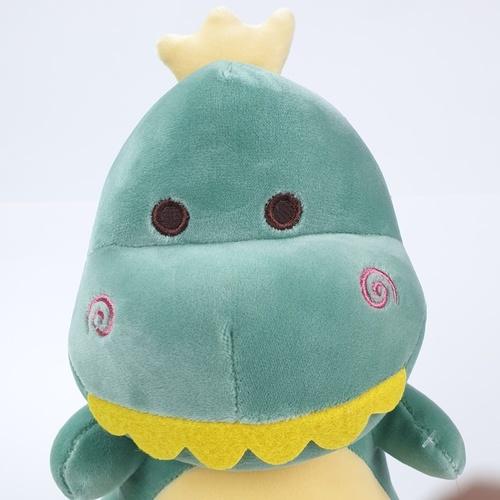 USUPSO ตุ๊กตาไดโนเสาร์ซีรี่ส์ 3 ขนาด 25 ซม. (#I9) สีเขียว