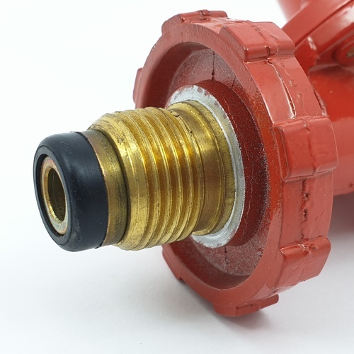 CLOSE หัวปรับแก๊สแรงดันสูง  HR701 สีแดง