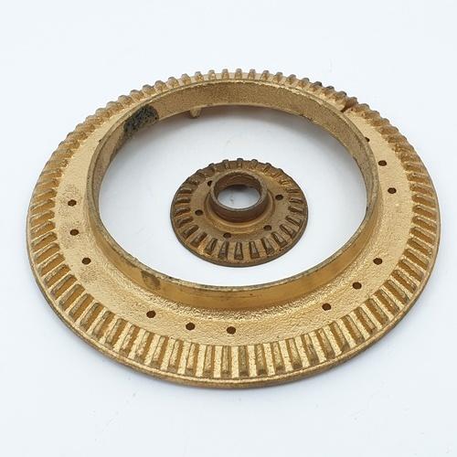 CLOSE ฝาเฟืองสำหรับเตาแก๊ส  G004-CI (Ø120mm)  สีทอง