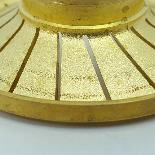 CLOSE ฝาเฟืองทองเหลืองสำหรับเตาแก๊ส  G051-BR (Ø70mm)  สีทอง