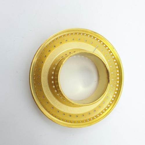 CLOSE ฝาเฟืองทองเหลืองสำหรับเตาแก๊ส  G056-BR (Ø90mm)  สีทอง
