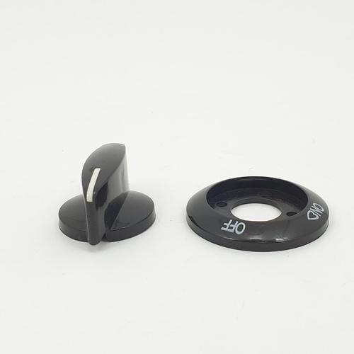 CLOSE ปุ่มเปิด-ปิดเตาแก๊ส   XN23  สีดำ