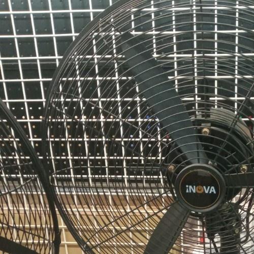 INOVA พัดลมอุตสาหกรรมตั้งพื้น ขนาด 20นิ้ว  IDTF-20S  สีดำ