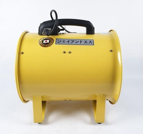 REX พัดลมท่อระบายอากาศขนาด 12 นิ้ว ECO DF-300E J&S สีเหลือง