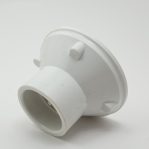 ตะแกรงน้ำติดผนัง ขนาด 50mm. EM2824 สีขาว