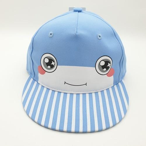 USUPSO  หมวกแก๊ปการ์ตูน - สีฟ้า