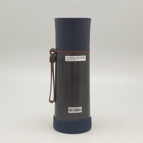USUPSO แก้วมักฝาสเตนเลส ขนาด  350ml.  สีน้ำเงิน
