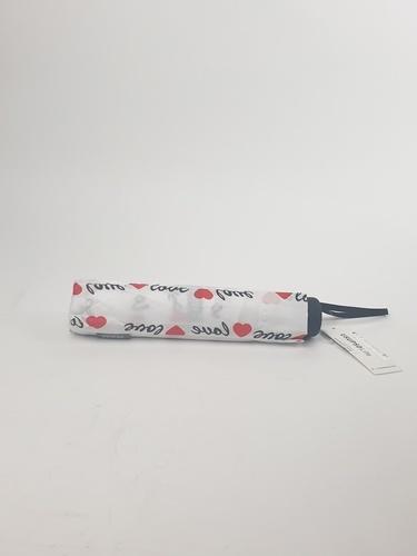 USUPSO ร่มพับ LOVE 7K  สีขาว