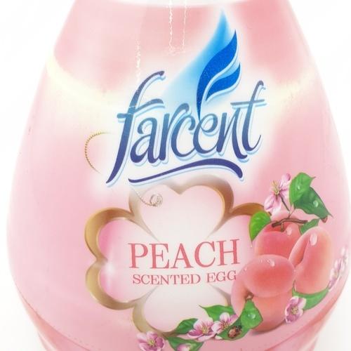 Farcent ฟาร์เซ็นท์เจลปรับอากาศรูปไข่ 170กรัม (พีช) AA-1232P สีชมพู