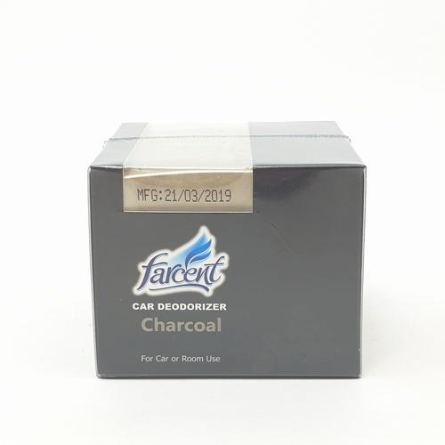 Farcent เจลดับกลิ่นในรถยนต์ ถ่าน 120 กรัม F-406