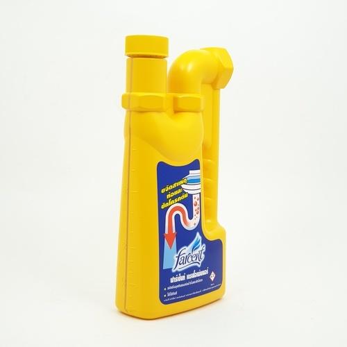 Farcent ฟาร์เซ็นท์ น้ำยาขจัดสาเหตุท่อน้ำตัน 1,000มล. JS-5011 สีเหลือง