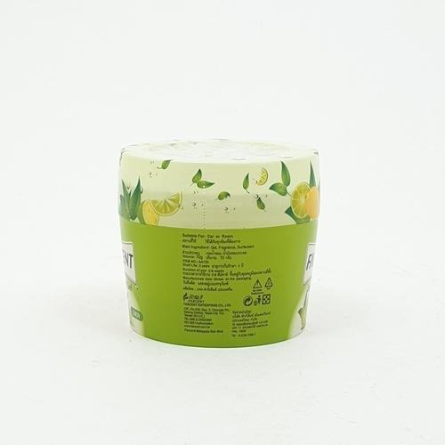 Farcent เซ็นท์เต็ดเจลปรับอากาศ 70กรัม(Lemon) AA-120Y สีเขียว