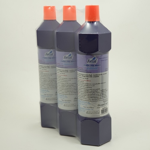 Farcent น้ำยาล้างห้องน้ำ 900ml.(2แถม1/แพ็ค) JS30113 สีม่วง