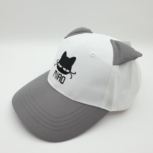 USUPSO หมวกเด็ก  Cat Ear  สีเทา