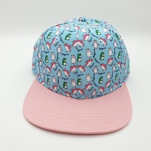 USUPSO หมวกแก๊ปเด็กเพนกวินน้อย - สีฟ้า