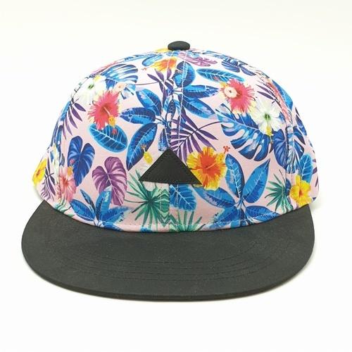 USUPSO หมวก plant flat - สีชมพู