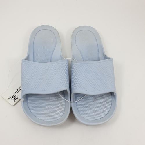 USUPSO รองเท้าแตะอาบน้ำ   (size 37-38) ฟ้าอ่อน  สีฟ้า