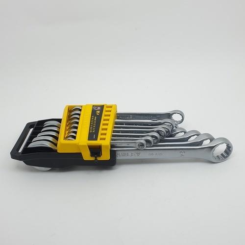 STANLEY ชุดประแจแหวนข้าง ปากตาย  14 ชิ้น  STMT78092-8 สีโครเมี่ยม