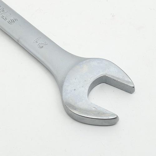 STANLEY ประแจแหวนข้าง ปากตาย 21 มม. STMT80235-8 สีโครเมี่ยม