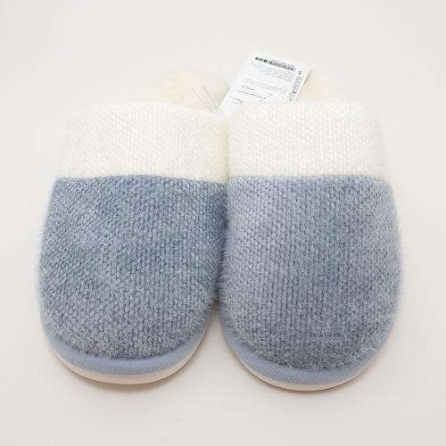 USUPSO รองเท้าใส่ในบ้าน 41-42  (#BO9) สีฟ้า