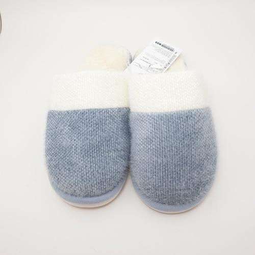 USUPSO  รองเท้าใส่ในบ้าน  43-44  (#BO9) สีฟ้า