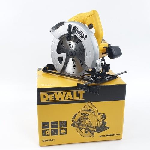 DeWALT เลื่อยวงเดือน 7 นิ้ว   DWE561A-B1 สีเหลือง