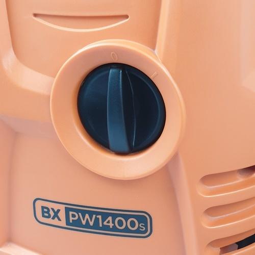 BLACK AND DECKER เครื่องฉีดน้ำแรงดันสูง 110 บาร์ 1400W  PW1400S-B1 สีส้ม