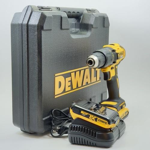 DEWALT สว่านกระแทกไร้สาย 18V. Brushless DCD778D2 สีเหลือง