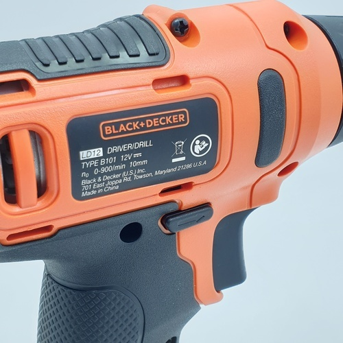 BLACK AND DECKER สว่านไร้สาย 12V  LD12SP-B1 สีส้ม