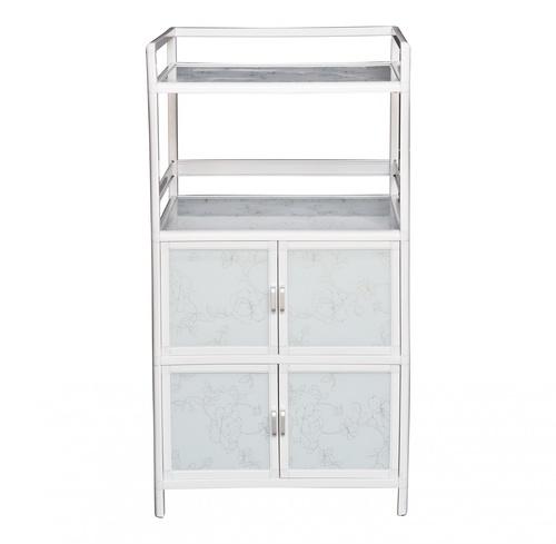 CLOSE ตู้อเนกประสงค์ ขนาด 63x43x122 ซม.  AURA-H สีขาว